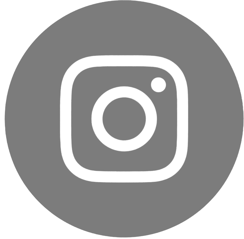 instagram icon.gray